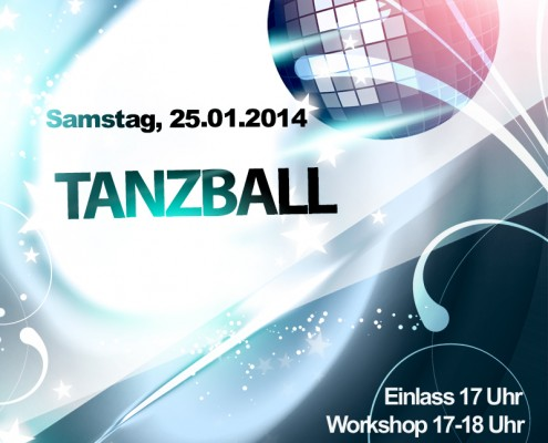 Tanzball Flyer